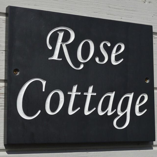 LLDSLATE Slate House Signs