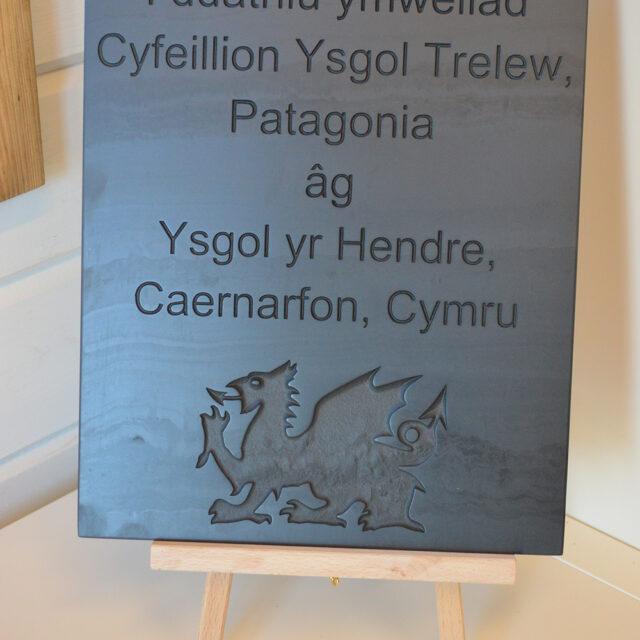 LLD Slate Welsh Slate Commissioned Commemoration