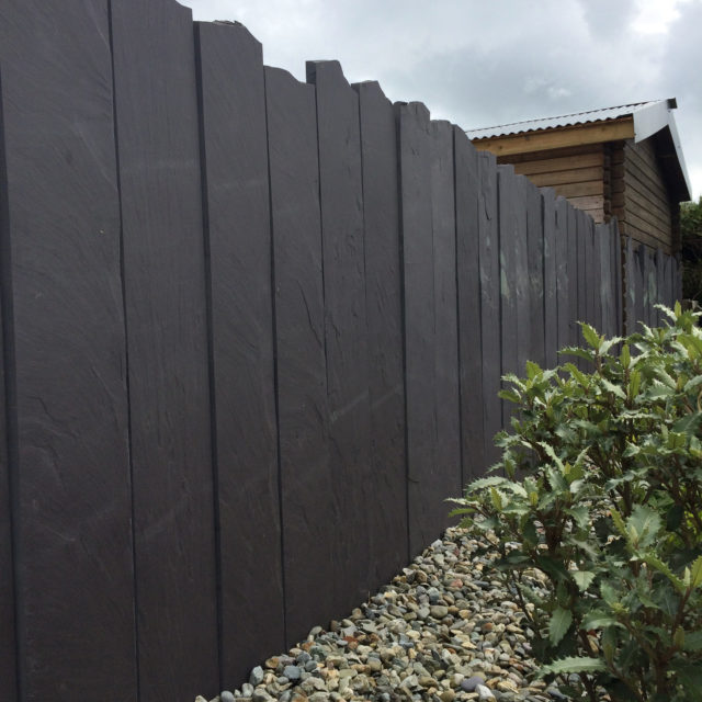 LLD Slate Welsh Slate Commissioned Fence