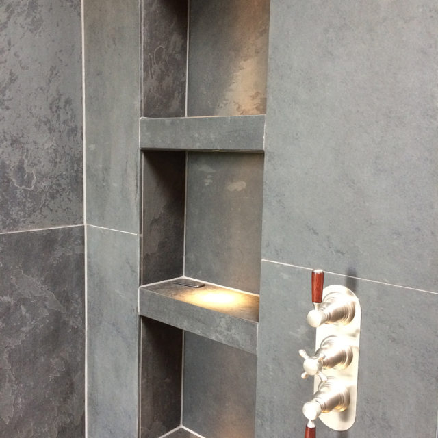 LLD Slate Welsh Slate Commissioned Shower