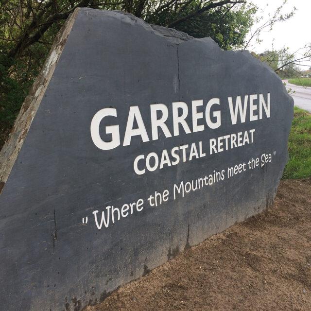 LLD Slate Welsh Slate Commissioned Signpost