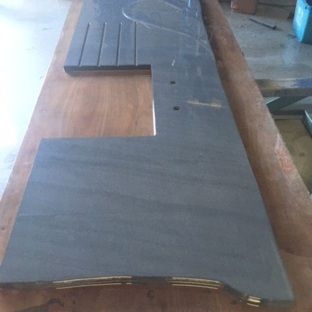 Welsh slate worktop